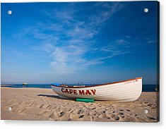 Acrylic Print featuring the photograph Cape May by Brad Brizek