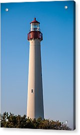 Cape May Lighthouse Acrylic Print by Jennifer Ancker