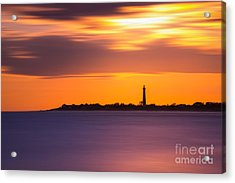 Cape May Lighthouse Long Exposure Acrylic Print
