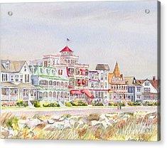 Cape May Promenade Cape May New Jersey Acrylic Print