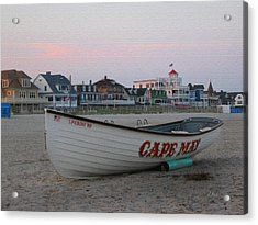 Cape May Remembered Acrylic Print by Gordon Beck