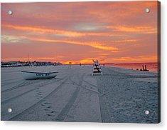 Cape May Seascape Acrylic Print
