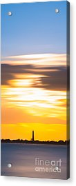 Cape May Lighthouse Vertical Long Exposure Acrylic Print