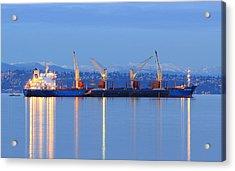 Acrylic Print featuring the photograph Cape Moreton by E Faithe Lester