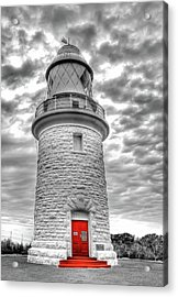 Cape Naturaliste Lighthouse Acrylic Print by Geraldine Alexander