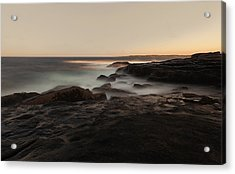 Cape Neddick Acrylic Print by Chris Babcock
