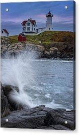 Cape Neddick Dusk Acrylic Print