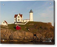 Cape Neddick Lighthouse Acrylic Print by John Shaw