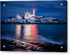 Acrylic Print featuring the photograph Cape Neddick Lighthouse by Robert Clifford