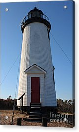 Cape Poge Lighthouse Acrylic Print by Carol Groenen