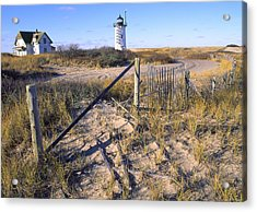 Race Point Lighthouse Cape Cod Acrylic Print