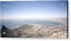 Cape Town Panorama Acrylic Print by Shaun Higson