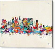 Cape Town South Africa Skyline Acrylic Print