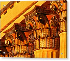 Capitals Acrylic Print by Christopher Woods