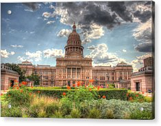 Capitol Acrylic Print by Andrew Nourse
