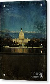 Capitol Blues Acrylic Print by Terry Rowe