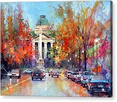 Capitol Confederate Acrylic Print