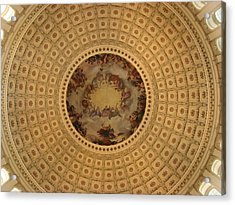 Capitol Dome Acrylic Print by Paul Thomas
