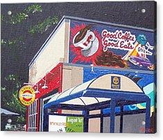Capitol Garage Acrylic Print by Paul Guyer
