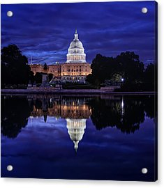 Capitol Morning Acrylic Print by Metro DC Photography