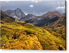 Capitol Peak In Snowmass Colorado Acrylic Print