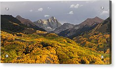 Acrylic Print featuring the photograph Capitol Peak Panorama by Aaron Spong