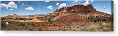 Acrylic Print featuring the photograph Capitol Reef Panorama No. 1 by Tammy Wetzel
