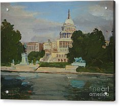 Capitol Reflections Acrylic Print