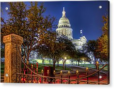 Capitol Stars Acrylic Print by Tim Stanley