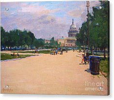 Capitol View Acrylic Print