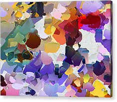 Capixart Abstract 20 Acrylic Print