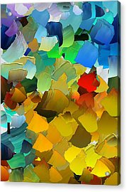 Capixart Abstract 33 Acrylic Print