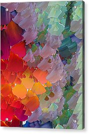 Capixart Abstract 58 Acrylic Print