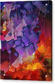 Capixart Abstract 66 Acrylic Print