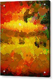 Capixart Abstract 88 Acrylic Print