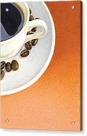 Cappuccino Acrylic Print