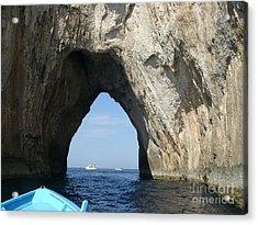 Capri Ocean Cave  Acrylic Print
