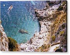 Capri Ocean Coast Acrylic Print