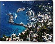Capri Town Acrylic Print