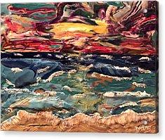 Capricious Sea Acrylic Print