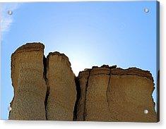 Caprock Butte Acrylic Print