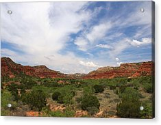 Acrylic Print featuring the photograph Caprock Canyons State Park 2 by Elizabeth Budd