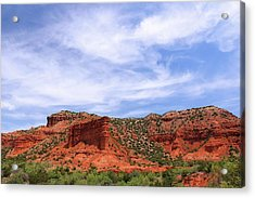 Acrylic Print featuring the photograph Caprock Canyons State Park by Elizabeth Budd