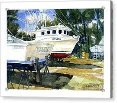 Capt. Lenny Trawler Acrylic Print