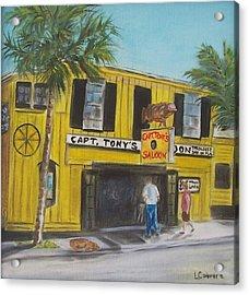 Capt. Tony's Saloon Acrylic Print