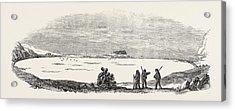 Captain Austins Arctic Expedition Winter Quarters Of Sir Acrylic Print