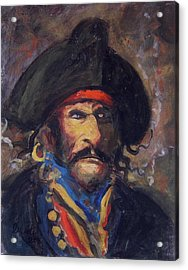 Captain Charming Acrylic Print by R W Goetting