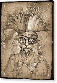 Captain Claw Acrylic Print by Jeff Haynie