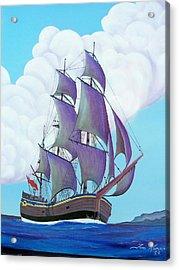Captain Cook   Endeavor Acrylic Print