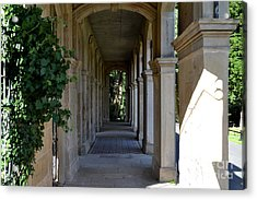 Captain Cook Museum Walkway Acrylic Print